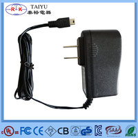 Top sale 9V 0.5A dc adapter with UL FCC approved