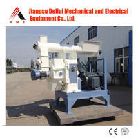 HME abundant experience cheap price pellet wood machine