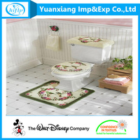 Five-star hotel door mat toilet bath mat rug with cheap price