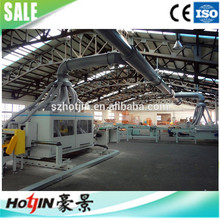 Multi-ply solid wood parquet flooring production line