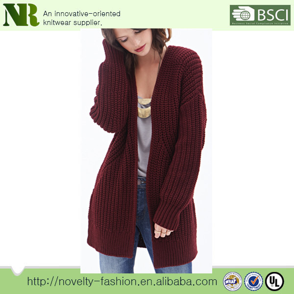 New Loose Long Knitting Cardigan,Large Style Sweater, Women Sweater Coat