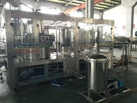 Washing Filling Capping 3in1 machine for apple juice