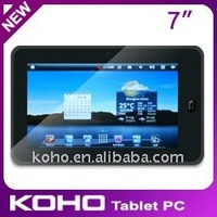 7 inch Tablet PC with Resistive Touch Screen