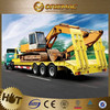 FUWA/BPW three/3 axles low bed semi trailer 40ft flatbed truck trailer for Venezuela , truck trailer spare parts