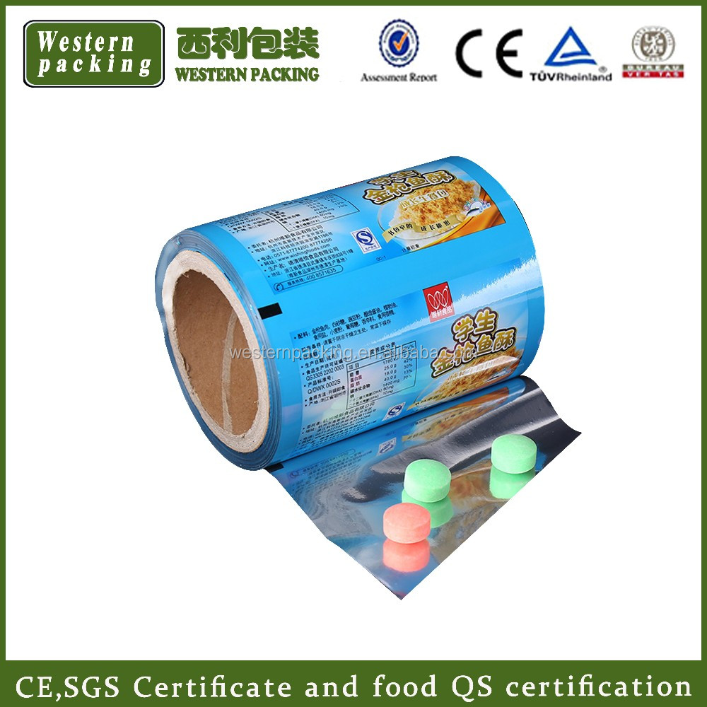 Guangzhou supply Ice Cream Plastic Packing Printed Roll Film, Ice Cream Plastic Packing, Printed Roll Film for Ice Cream