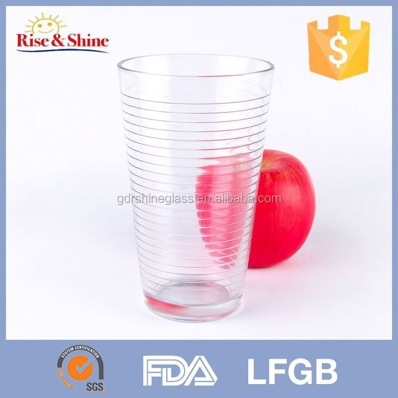 2015 Promotional wholesale glass tumbler with lid factory outlet