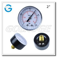 High Quality 2inch 50mm vacuum compound pressure gauges with back connection