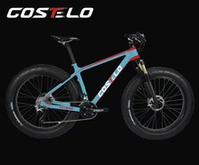 COSTELO New style Snow bike frame carbon fiber road bicycle frame,best quality carbon bicycle frame
