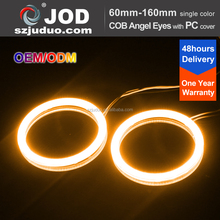 Waterproof led ring light 12v dc red/yellow/white color 12 months warranty