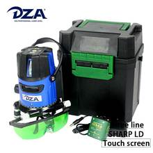 Cheap Prices Self Leveling Touch Screen 3 Green Sharp LD Lines Laser Level