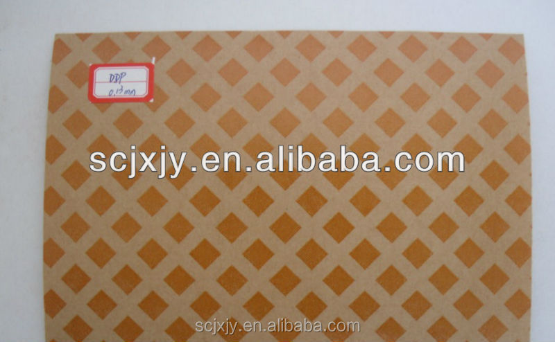 Diamond Pattern Resin Coated Paper/ Diamond dotted paper/ insulation materials
