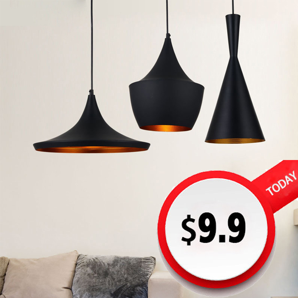 The Nordic Small Fancy Black Indoor Pendant Lighting