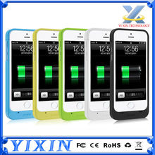 With FCC,CE,ROHS Extended Protective Battery Case for iPhone 5S 5C 5 Ultra Slim Removable Rechargeable External Battery