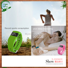 Rechargeable activity sleep smart health WRISTBAND