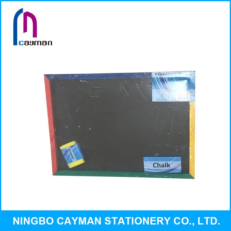 High pressure hydraulic wooden chalkboard with stand