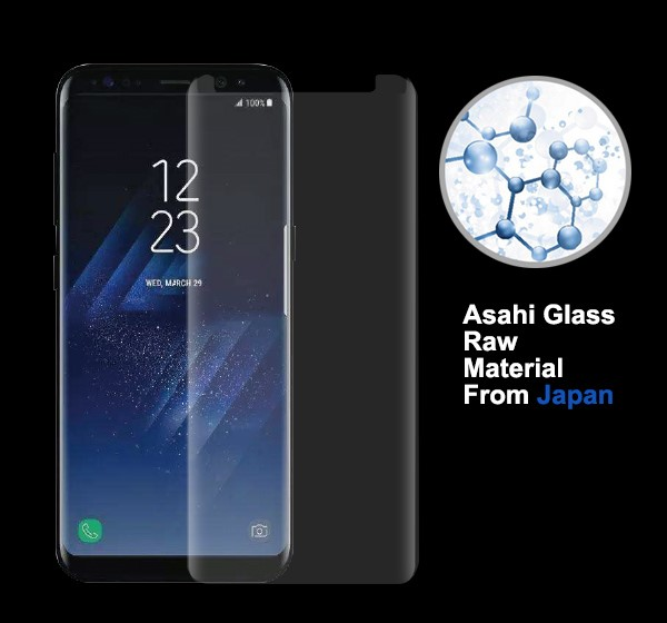 3D Full Cover for Samsung Galaxy S8 Anti-spy Privacy Screen Protector 0.33mm 9H S8 Tempered Glass