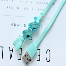 Colorful Combo Data Cable Android With Love Model 1.2 Meter
