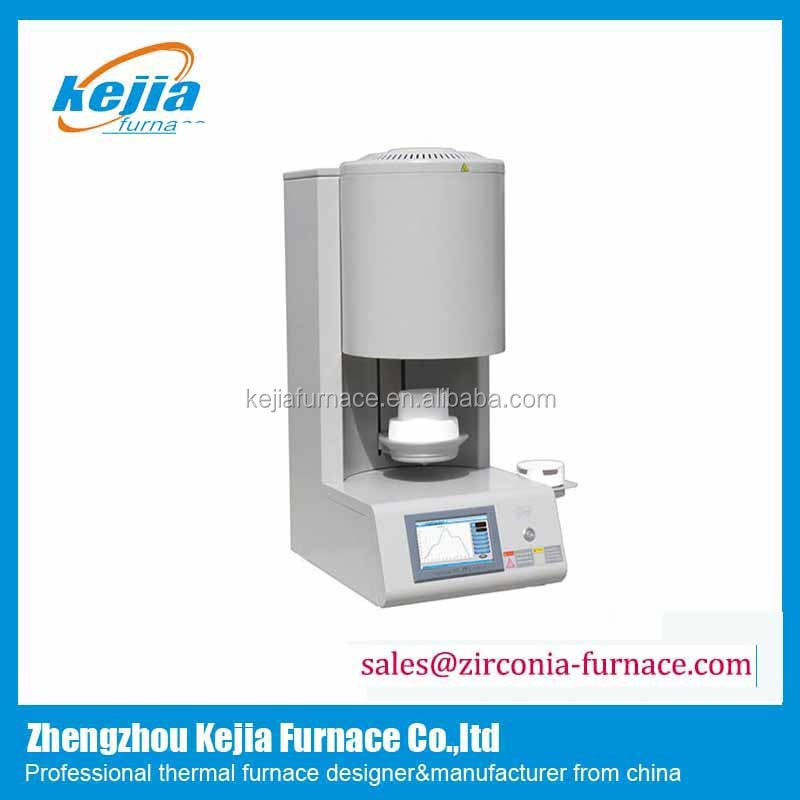 dental sintering equipment vacuum porcelain furnace for to zirconia crown