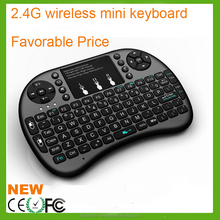 i8+ 2.4Ghz wireless mini keyboard smart tv Air Mouse with Touchpad for smart TV