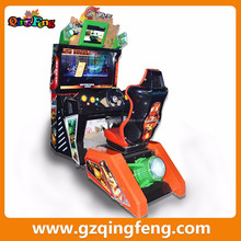 Guangzhou Qingfeng manufacturer electric Cannonball Run simulator arcade racing game machine