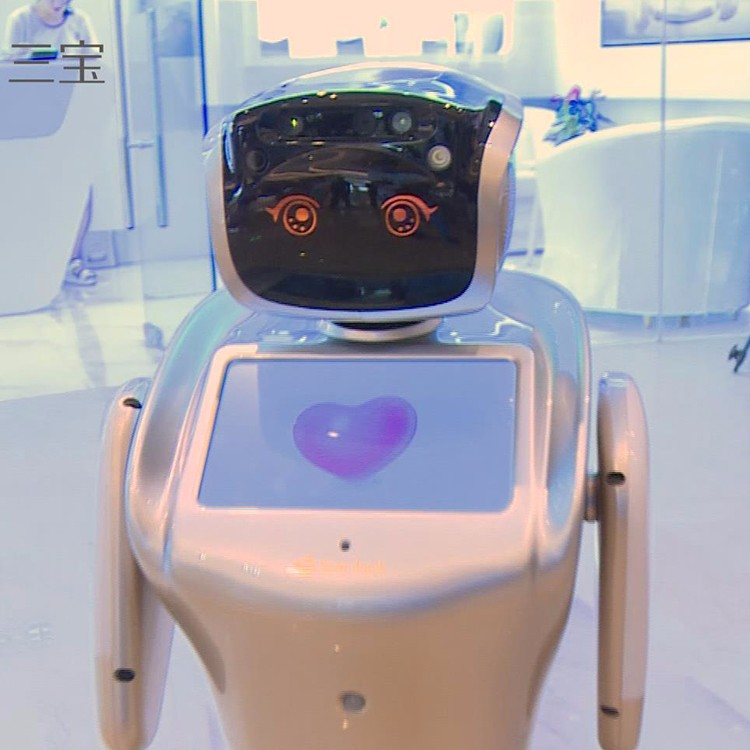Cutomized intelligent hospitality reception serving robot for bank, airport, restaurant