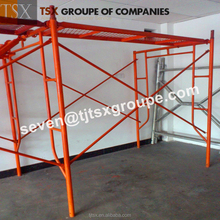 TSX-HF2236 Latest Arrival oem service painted/galvanized scaffolding h frame