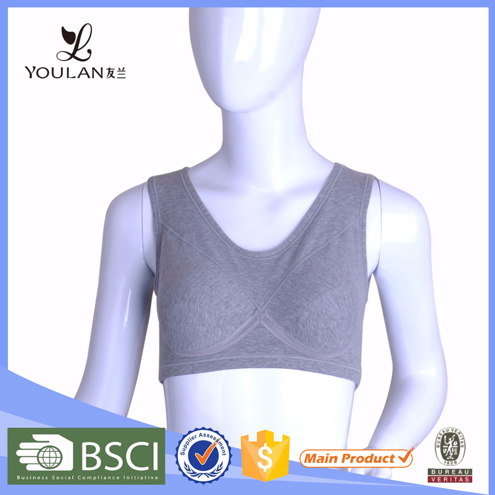 Low Price Fantastic Young Girl Cotton Yoga Sports Women Sexy Bra
