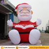 Merry Christmas 2017 Inflatable Santa Claus Reading Book for Xmas Decor