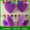 Food Grade Professional Soft Silicone Cosmetic Face Brushes for cleaning face