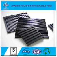 Custom Anti Vibration Pads / Vibration Isolation Pad / Groove Rubber Pads