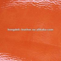 polish pu printed artificial leather for shoes bags fashion synthetic leather
