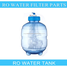 CE Listed Home Grade 4 Gallon Plastic PVC Material RO Filter Insulated Water Storage Pressure Tank