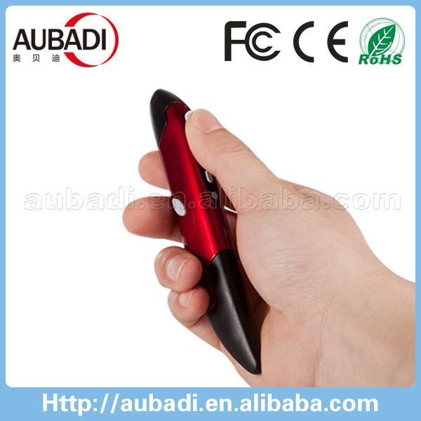 pen mouse 2.4g optical powerpoint wireless presentation mouse