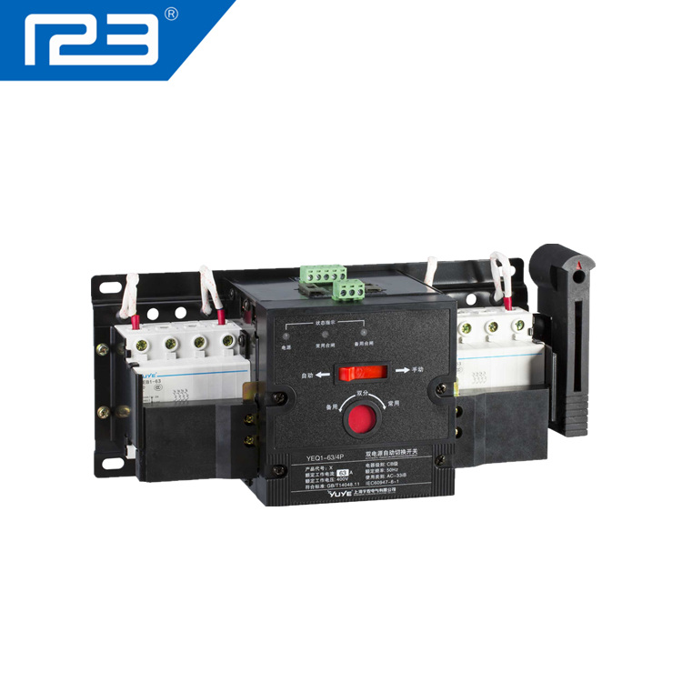 Automatic static Transfer changeover Switch,generator change over switch