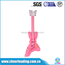 New special shapes cheering product small pe inflatable guitar