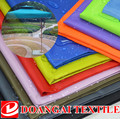 300d polyester oxford fabric with pu silver coating for waterproof sun shade fabric