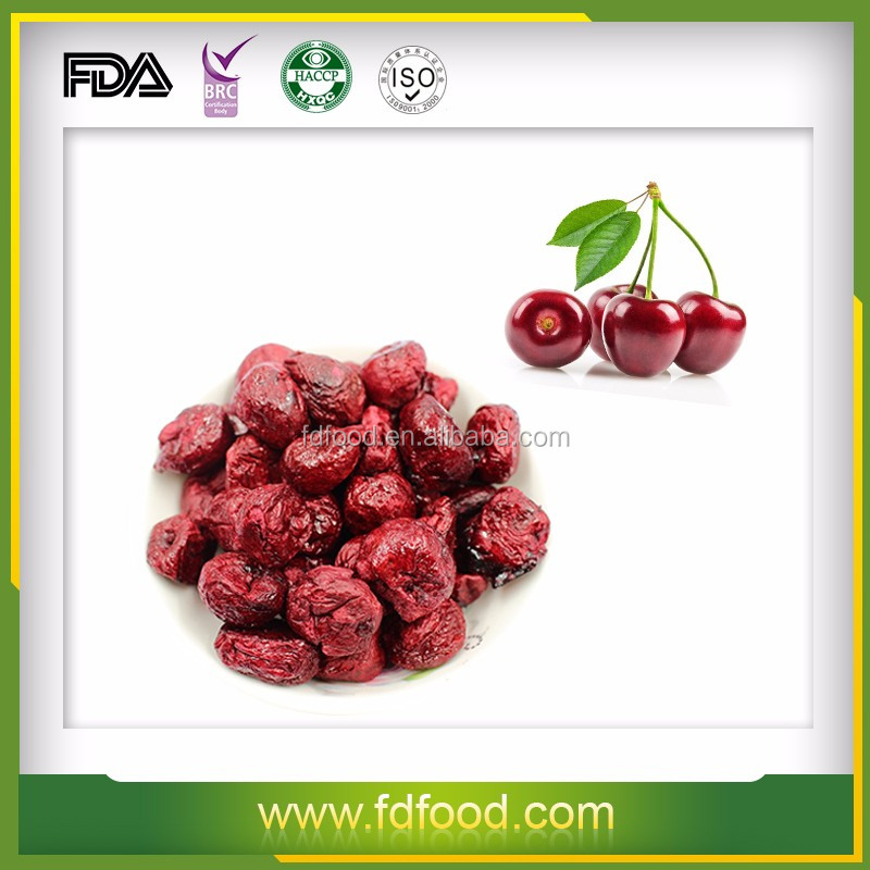 Market price for no additives freeze dried whole cherry