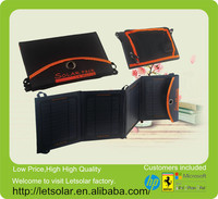 New china factory flexible solar panel backpack for iPhone and iPad directly under the sunshine