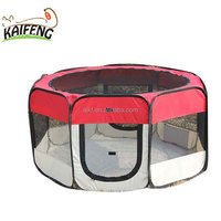 Wholesale Foldable Eight Panels Fabrics Pet Dog Puppy Outdoor Exercise Pet Playpen