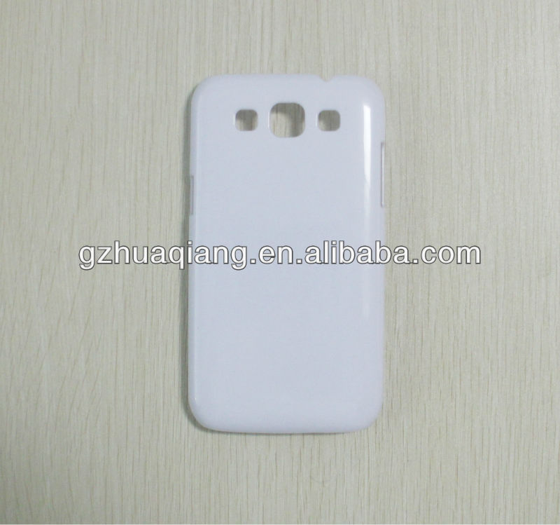 3D sublimation blank phone case for samsung galaxy s3,made in china
