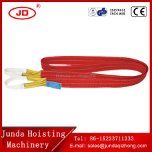 high safety factor 6:1 7:1 OEM available lifting web sling belt crane belt
