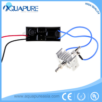China supplier German tech corona discharge 12V DC high frequency ozone generator module ozonater parts 200mg/hr