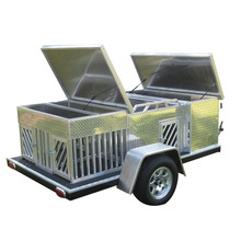 Small Strong Aluminum Dog Box trailer for Sale