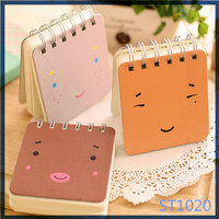 2016 new arrivals factory price wholesale square shaped promotional stationery items gift books for kids