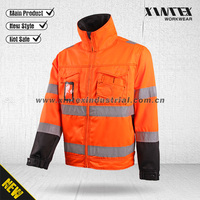 ANSI/ISEA 107/ EN ISO 20471 Northcape Safety high visibility reflective workwear jacket