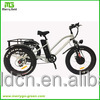 500W Lithium Battery 3 wheel Electric Bicycle Trike