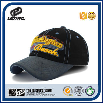 Fashion fitted brimless baseball cap with button