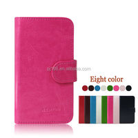 Simple wallet design leather cover flip case for Samsung galaxy Fame Lite S6790