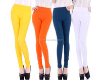 women high quality full length slim and lift cotton leggings