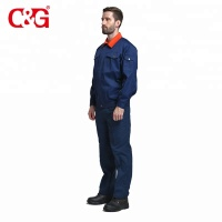 Fireproof retardant uniform work clothes